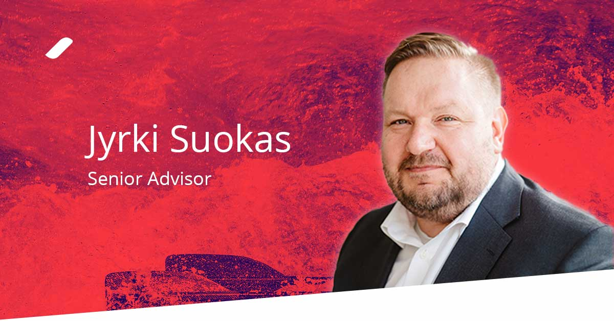Welcome Jyrki Suokas to the Taival team!