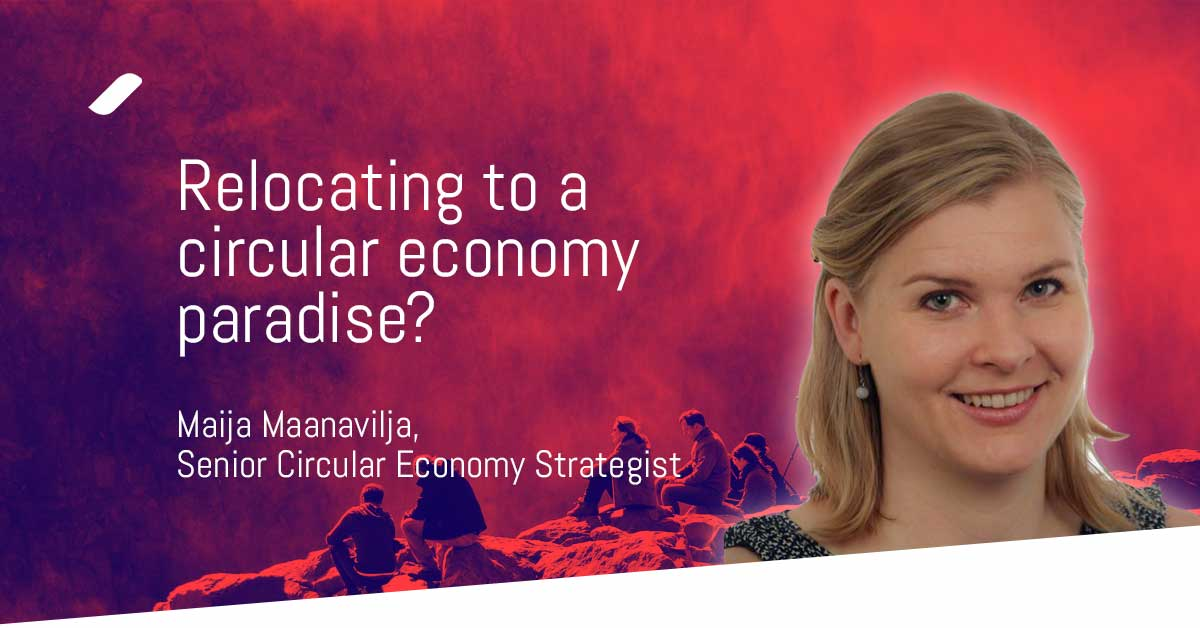 Relocating to the circular economy paradise?