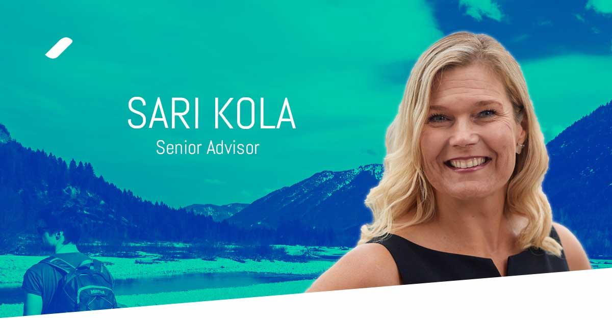 Welcome Sari Kola to the Taival team!