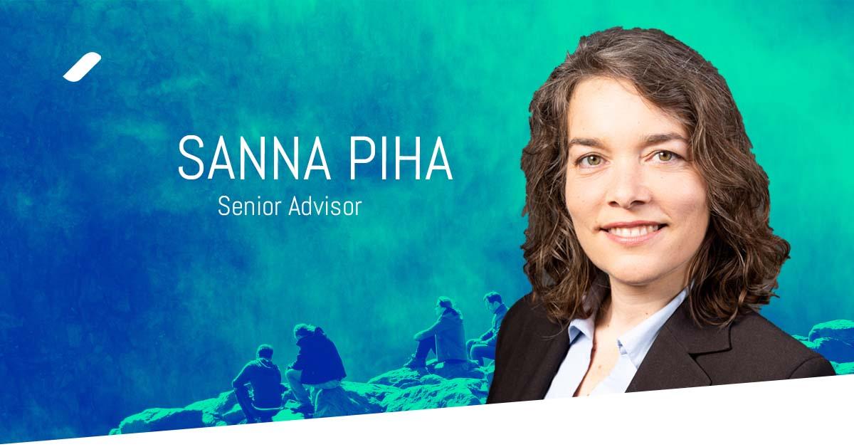 Welcome Sanna Piha to the Taival team!