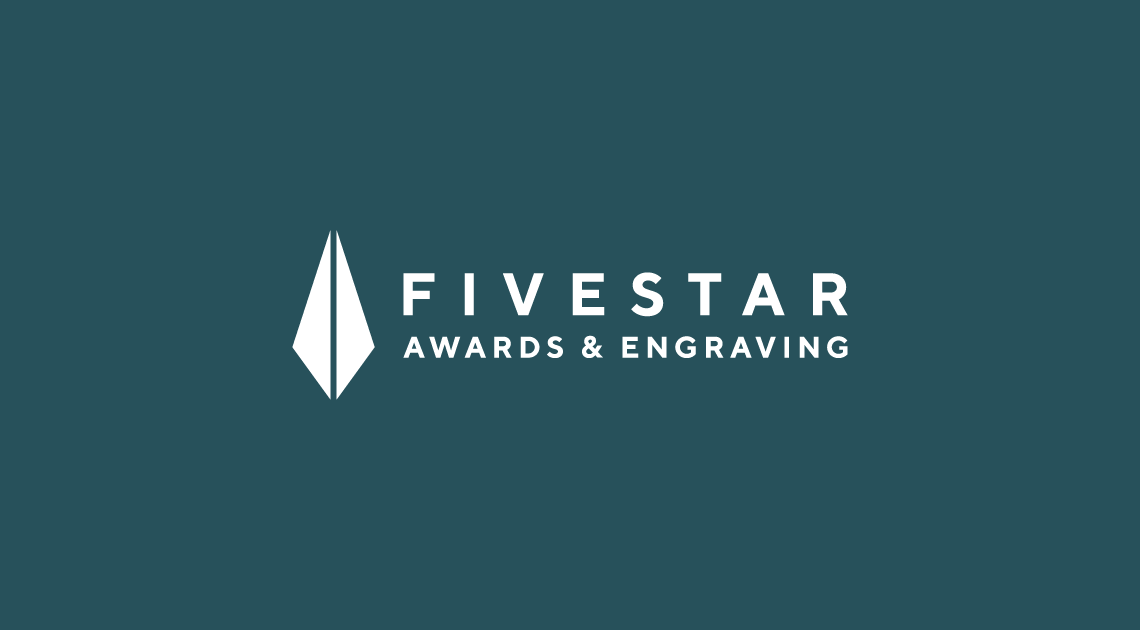 Logo design for FiveStar Awards and Engraving