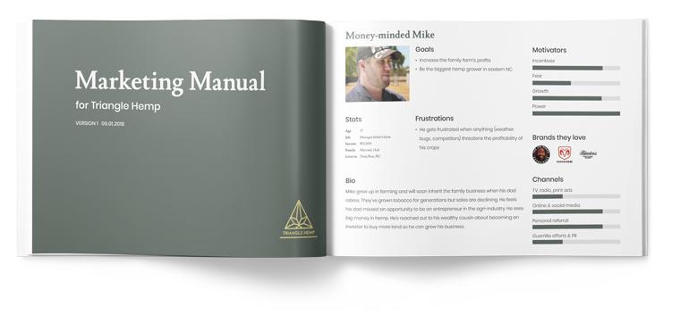 Strategy and marketing manual for Triangle Hemp