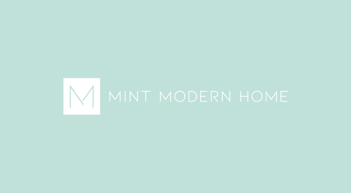 Beautiful logo design for Mint Modern Home