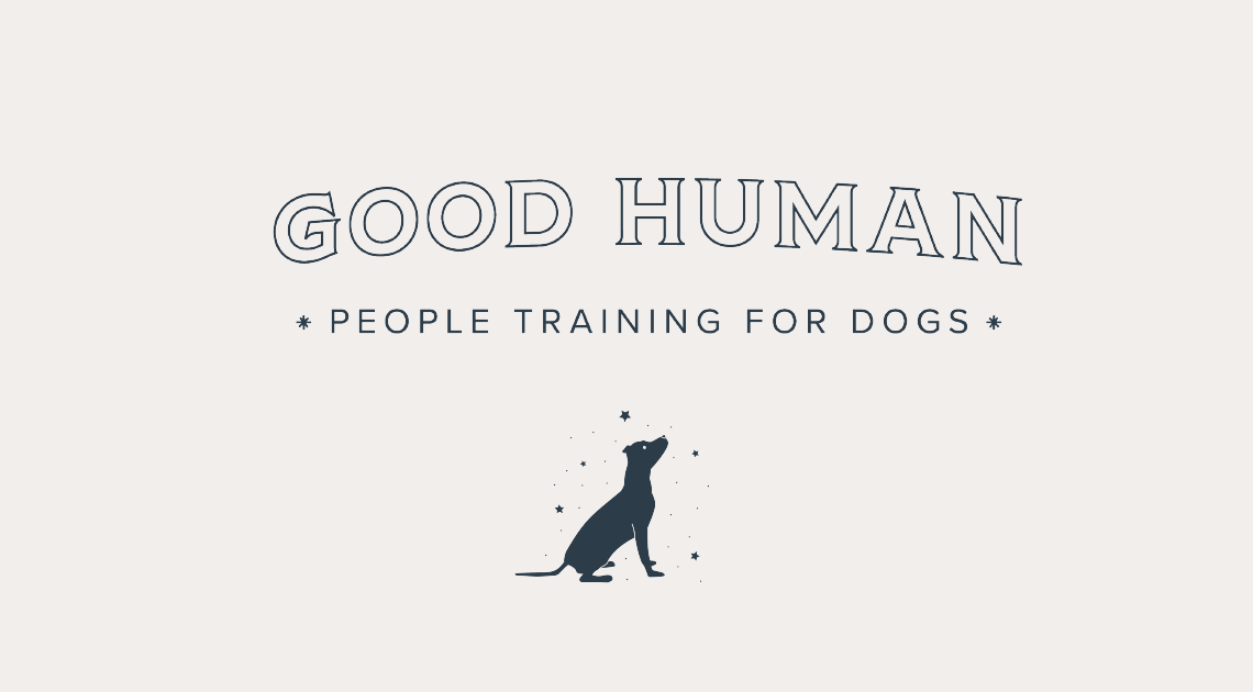 Logotype design for Good Human Dog Training • made with Goodness creative studio in Raleigh NC