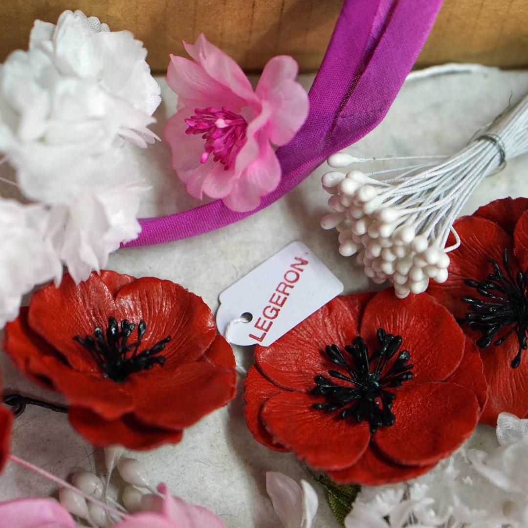 Flowers of fashion at Maison Legeron
