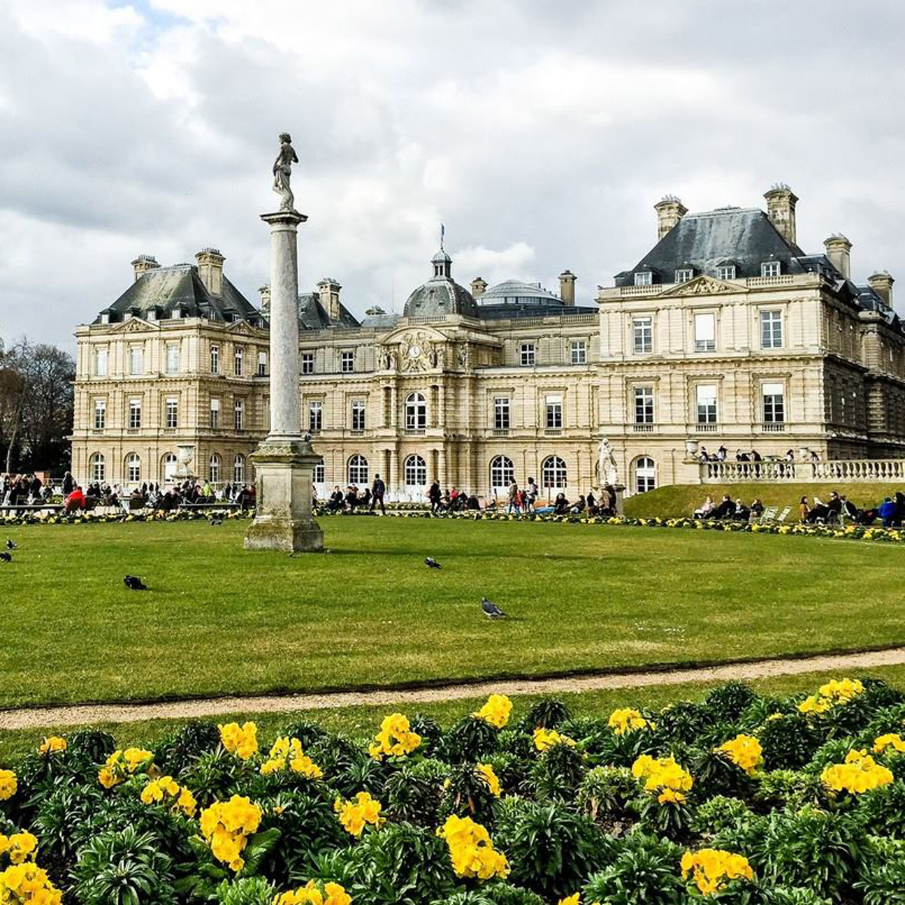 Alan Riding's Luxembourg Gardens