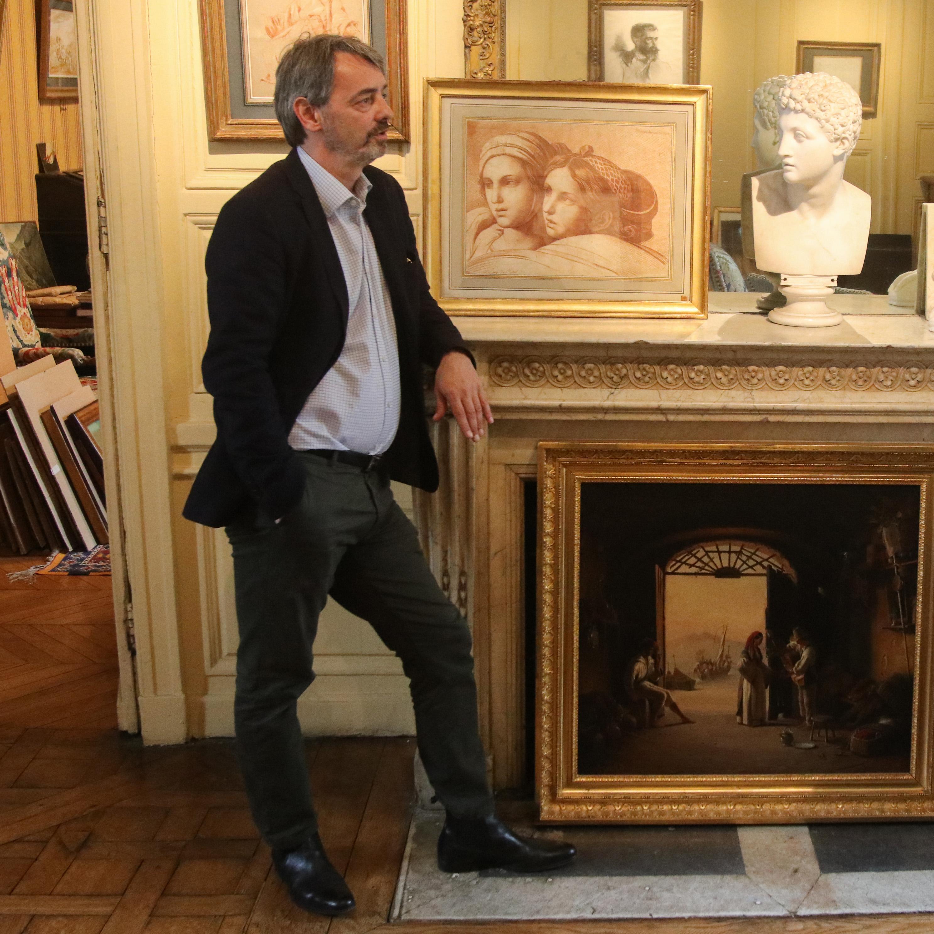 Croiser le chemin de Da Vinci avec Patrick de Bayser