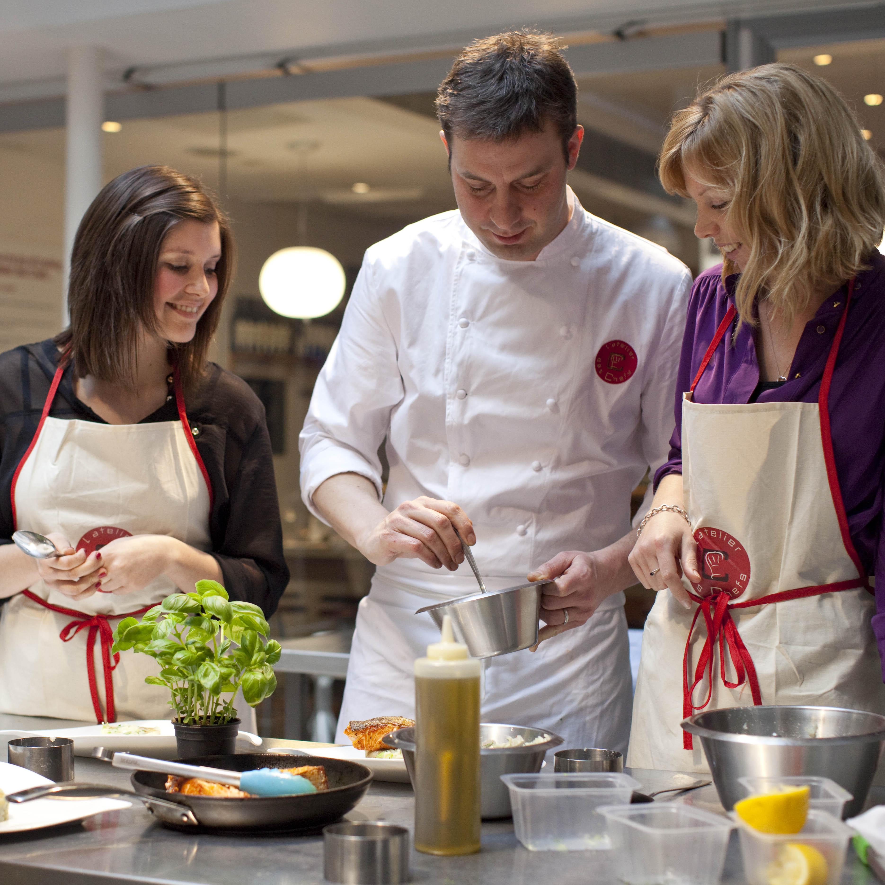 Décoder la cuisine française à l'Atelier des Chefs
