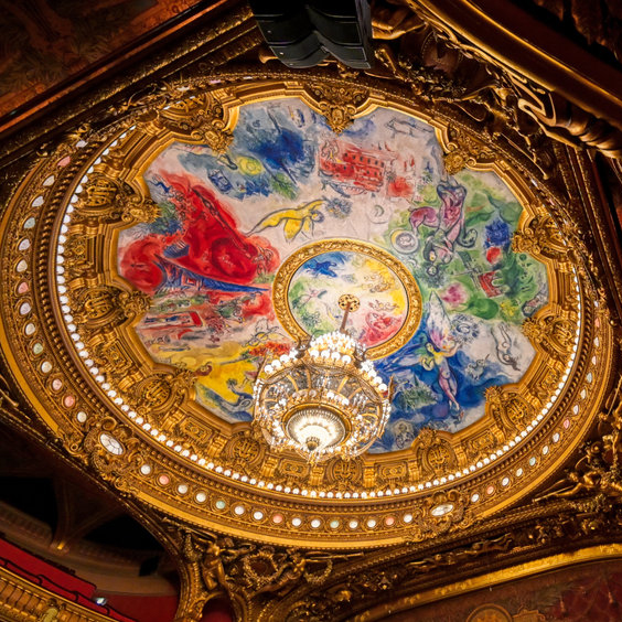 Backstage at the Paris Opera House