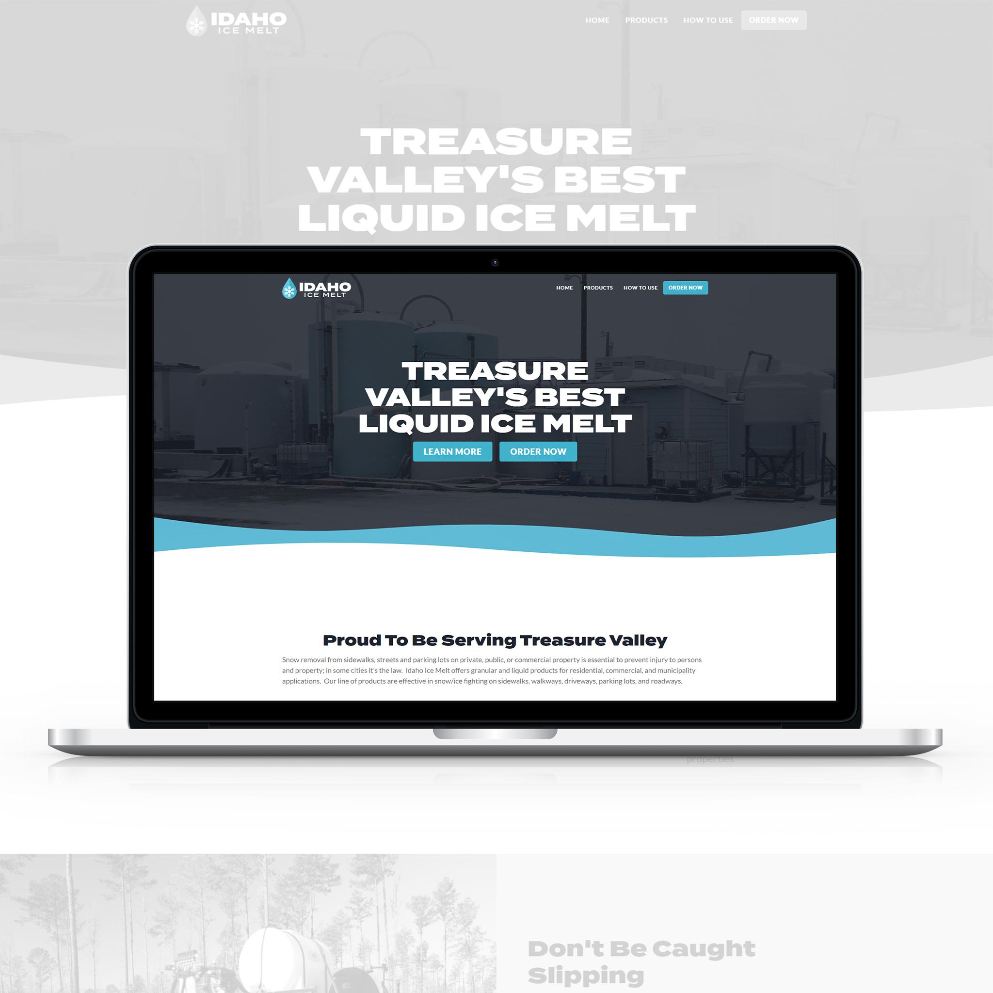 Idaho Ice Melt Website