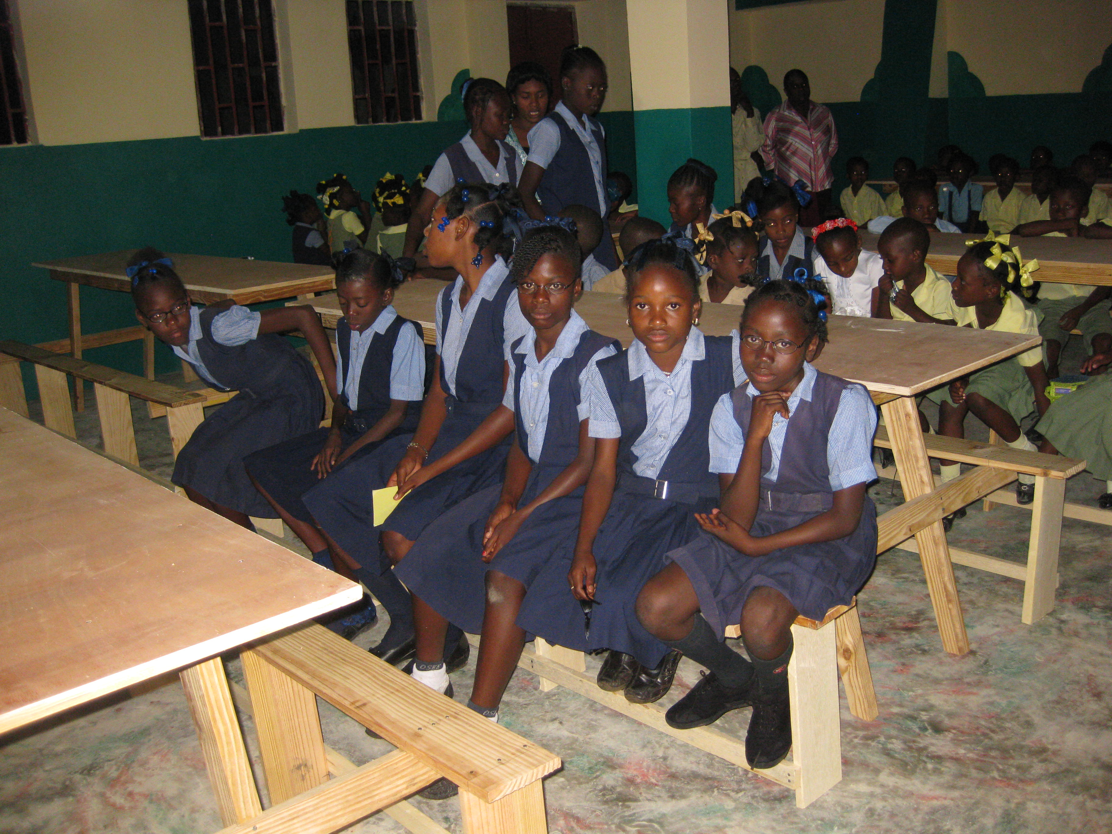 We contribute to children's education.