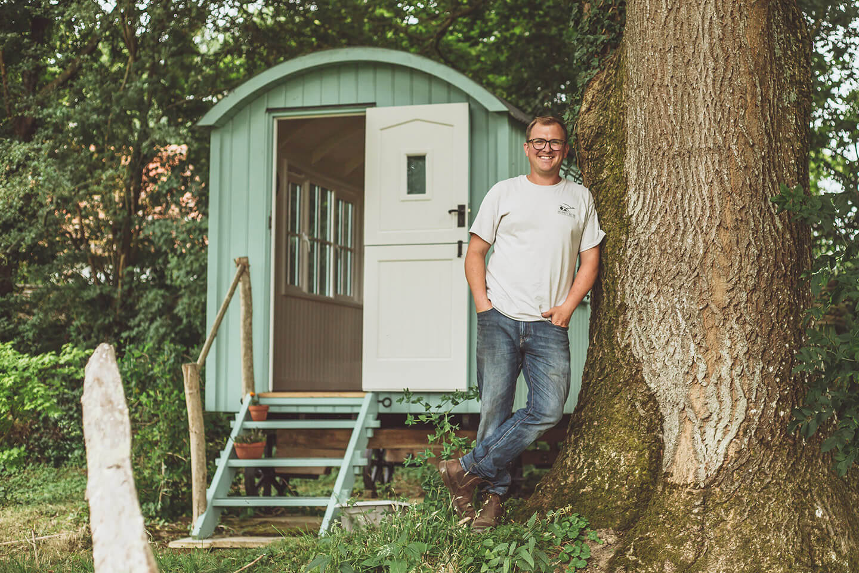Meet Joe - The heart of Sussex Huts
