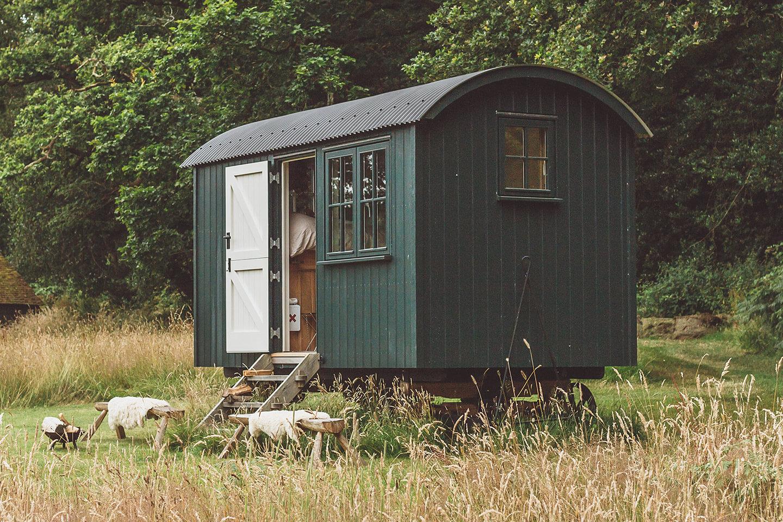 The Sussex Shepherd Hut
