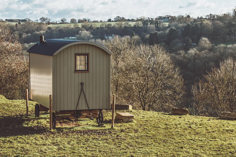 The Glamping Shepherd Hut