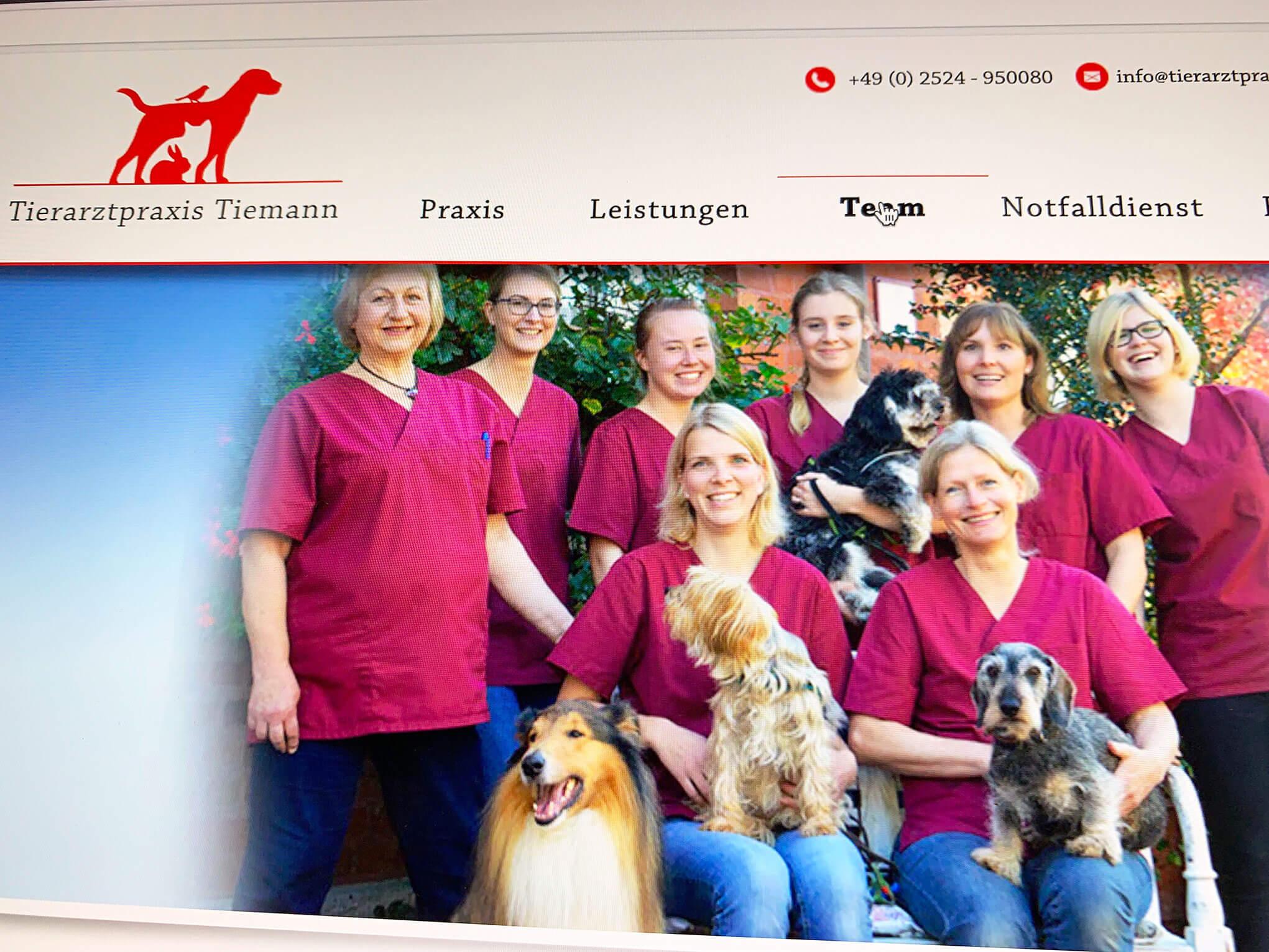 Tierarztpraxis Tiemann.
