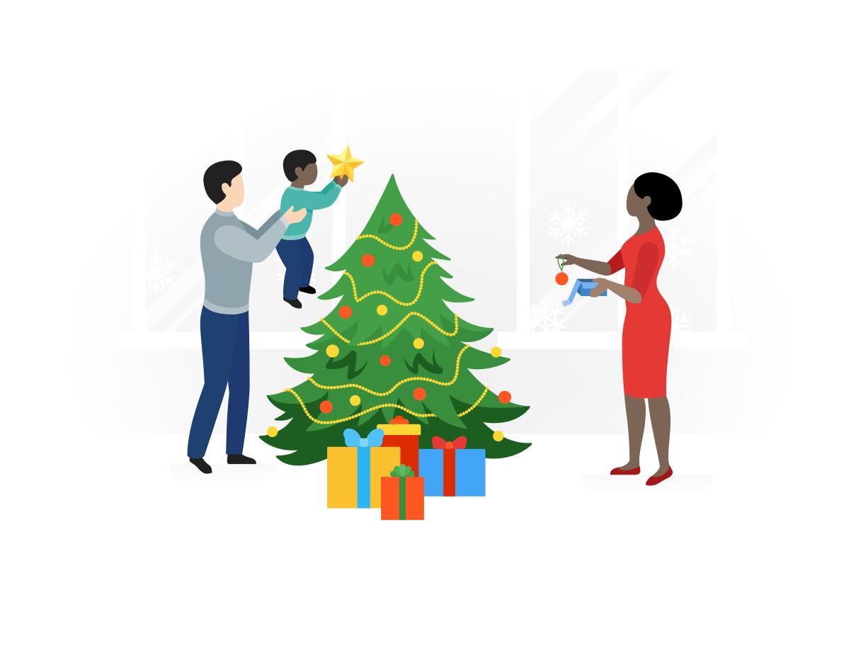 Chèques cadeaux noël