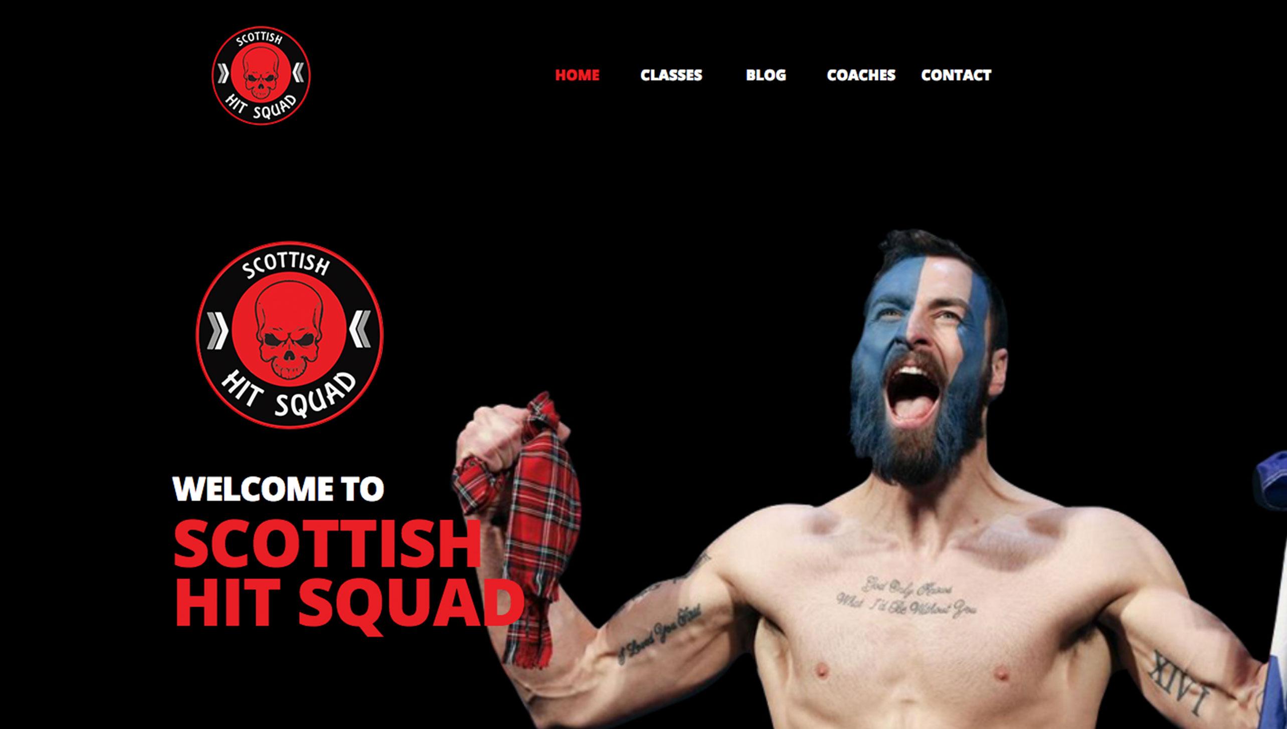 Scottish Hit Squad Website Image