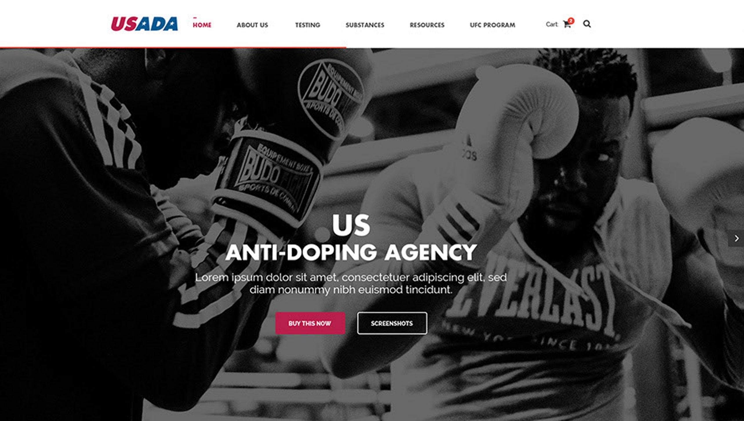 USADA Website Image