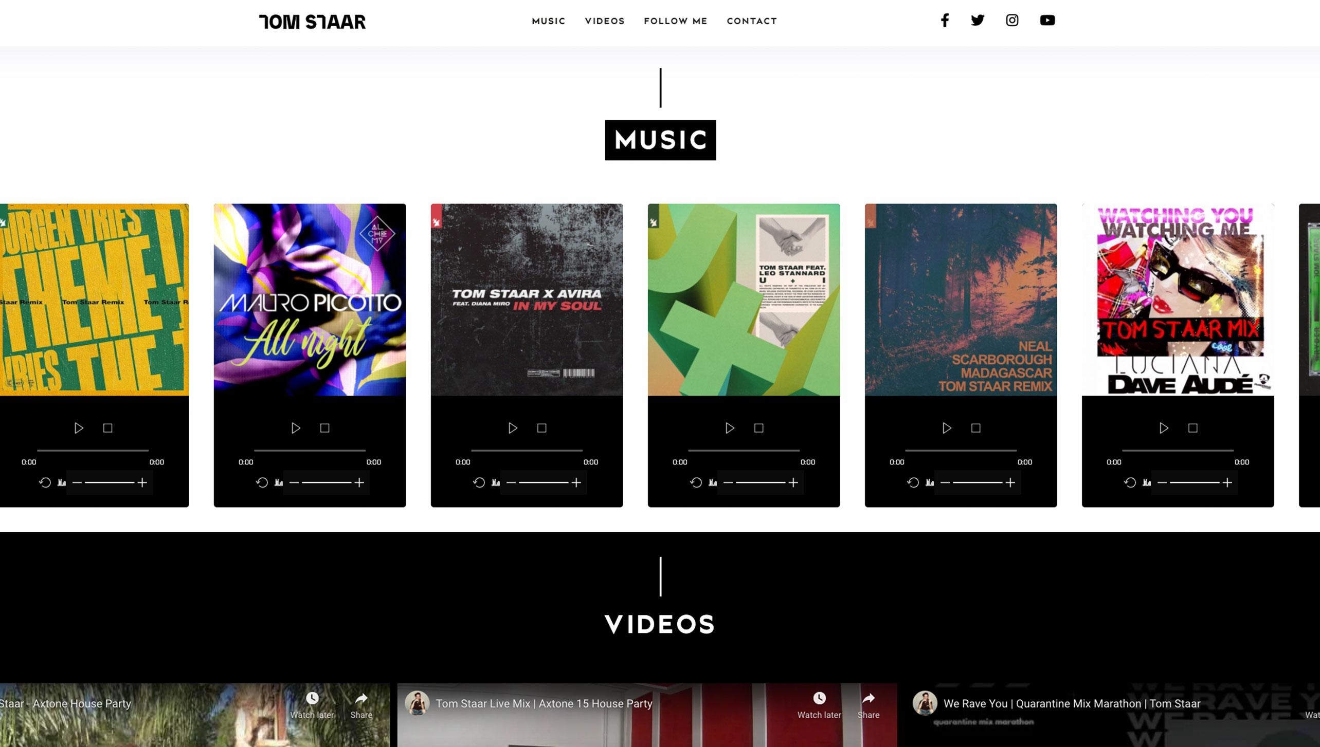 Tom Staar Website Image