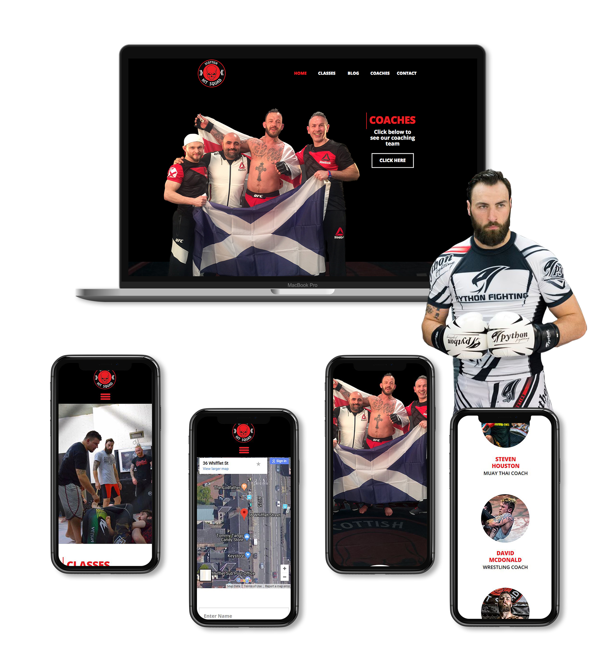 Scottish Hit Squad Website
