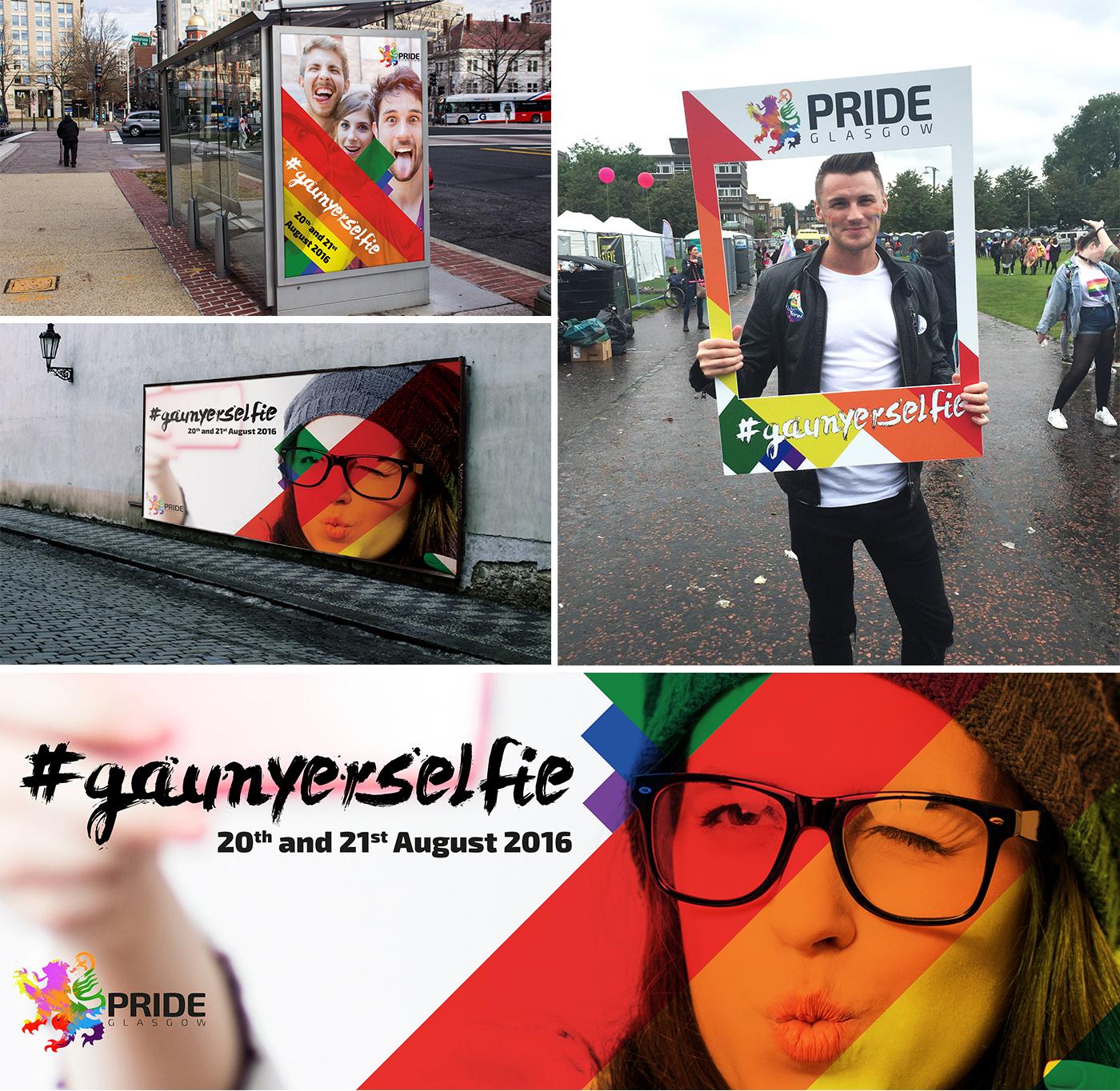 Pride Glasgow Advertising
