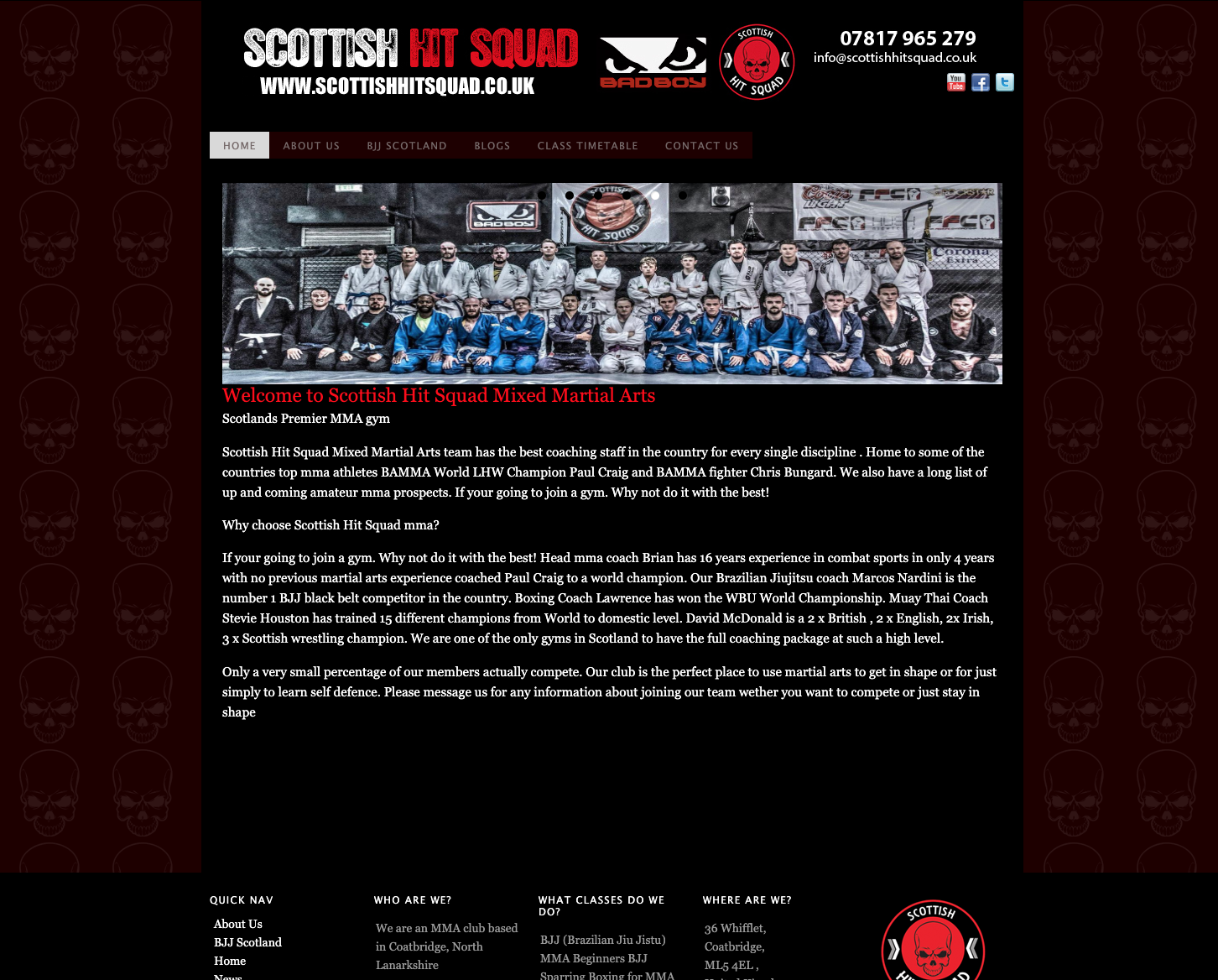 Old Scottish Hit Squad Website