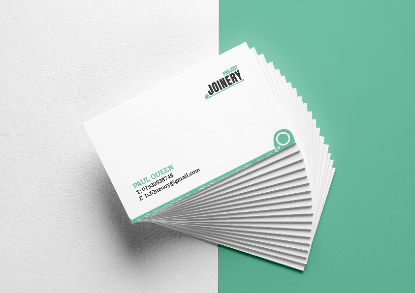 Project Joinery Business Cards