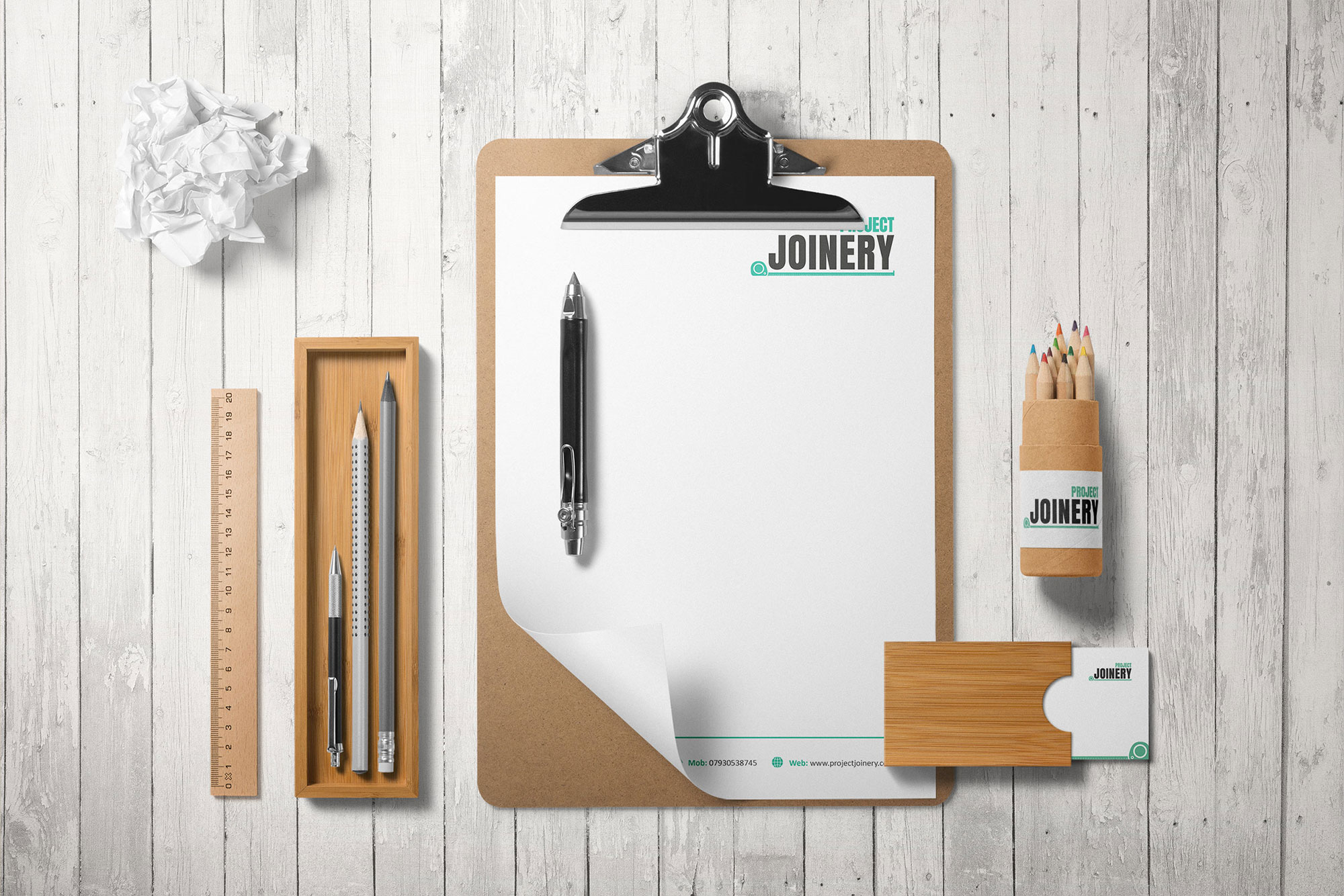 Project Joinery Stationery