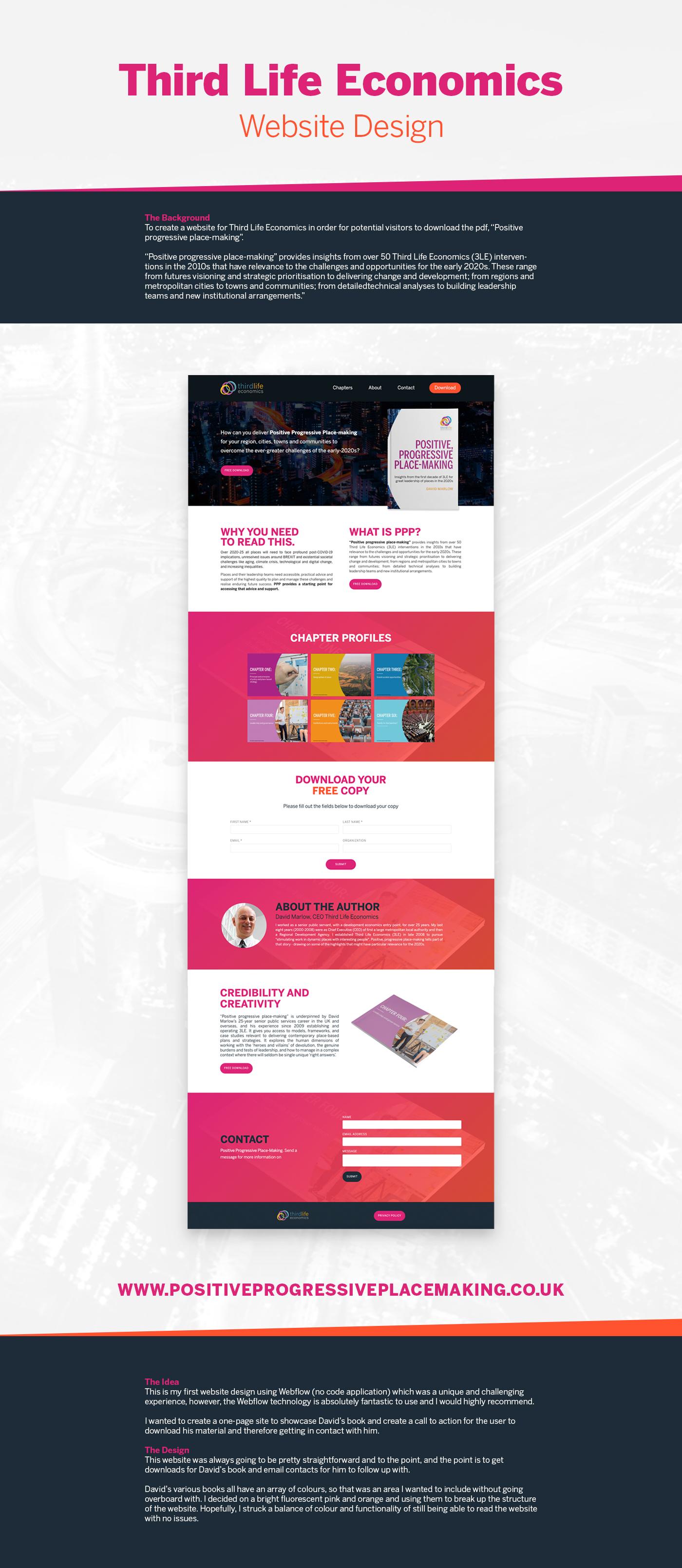 Third Life Economics Web Design