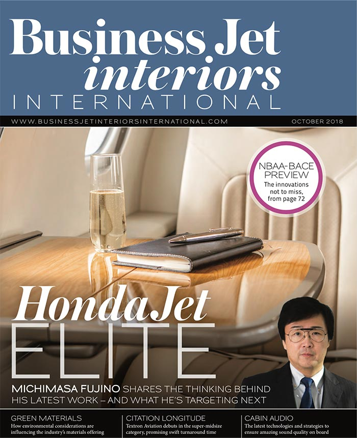 Business Jet Interiors: Recipe for Success