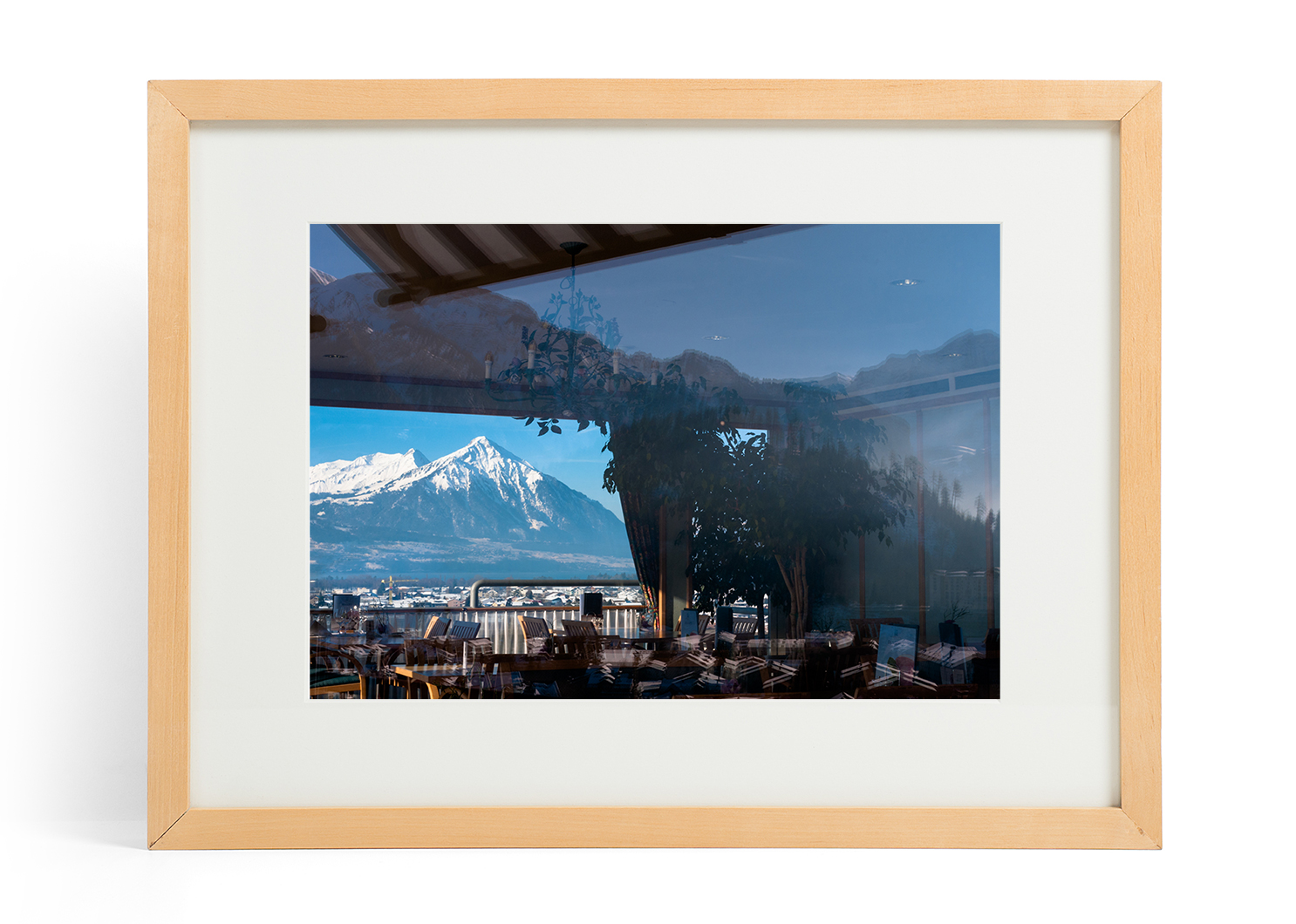 Peek Through The Alps