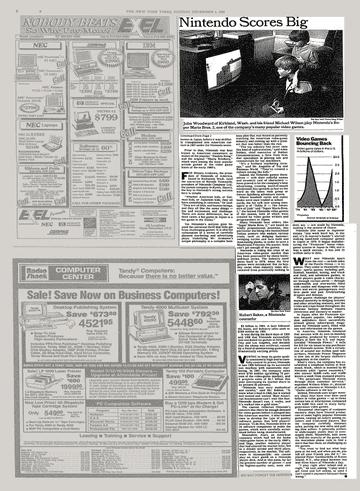 Nintendo Scores Big - The New York Times