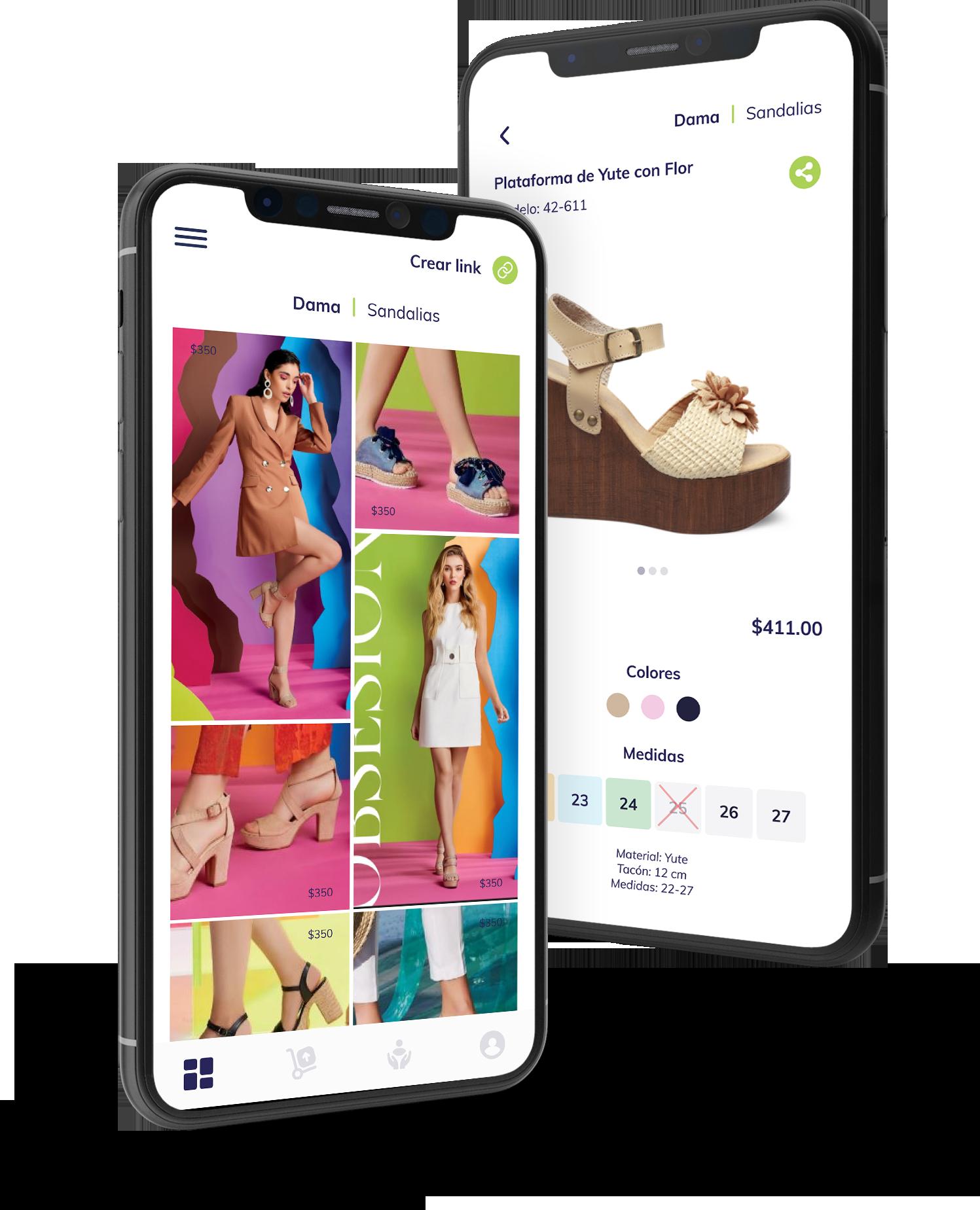 Aplicación móvil para instrumentar vendedores por catálogo.