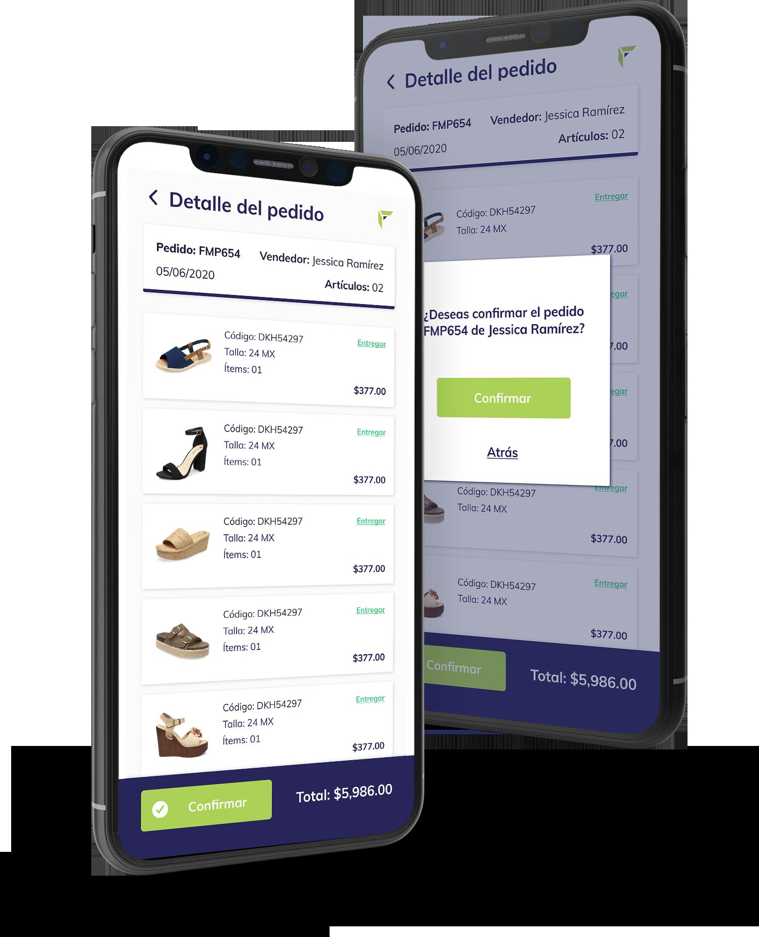 Aplicación Web para clientes