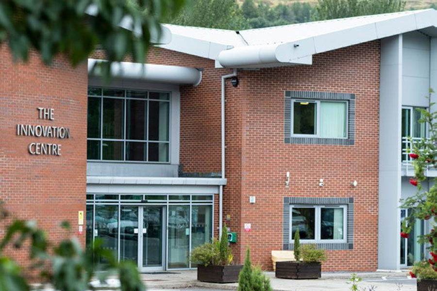 Graphic and Website Design Innovation Centre Ebbw Vale Office