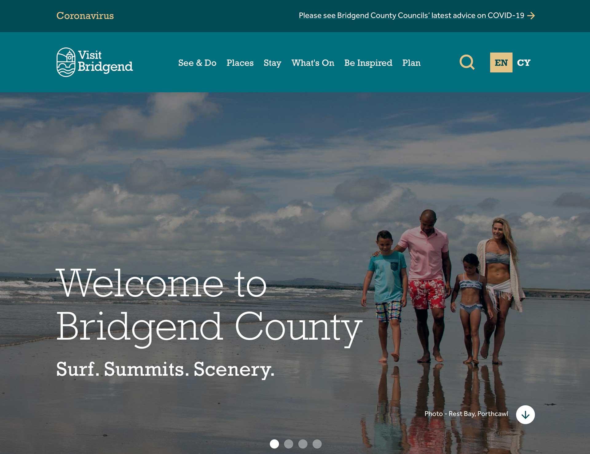 Visit Bridgend