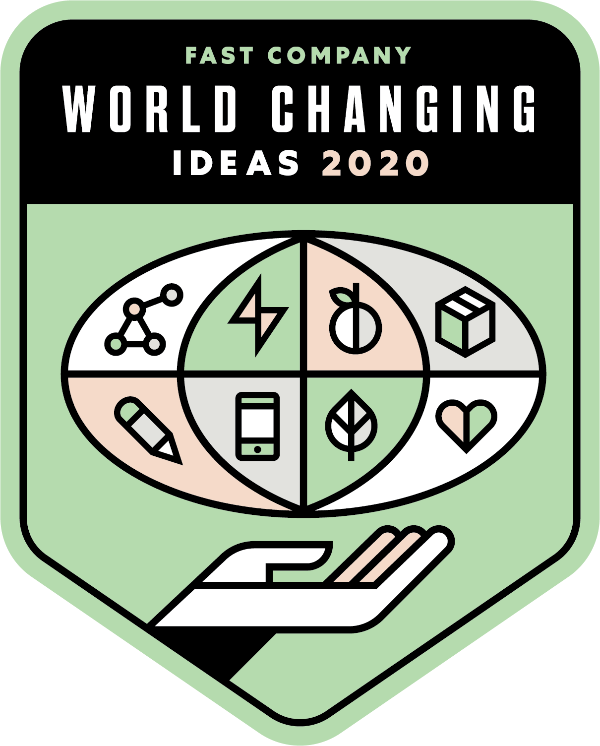 Fast Company World Changing Ideas 2020 in the category of politics and policy