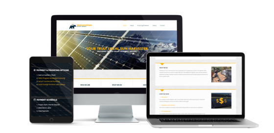 Bear Mountain Solar Website