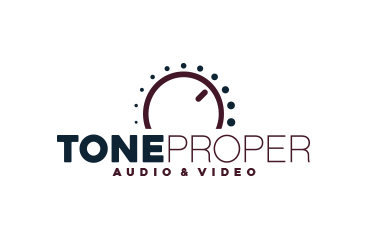 Tone Proper Audio Video Logo