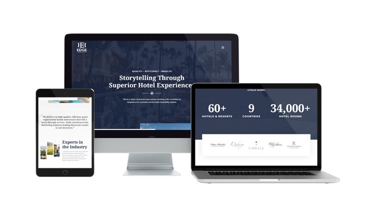 Edge Hospitality Website