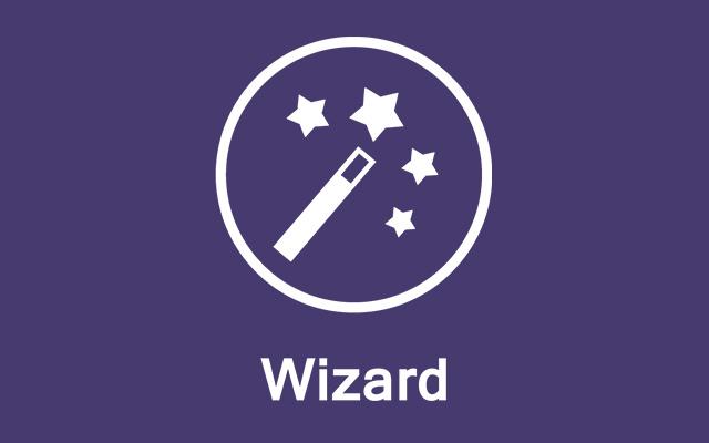 Hohe Benutzerfreundlichkeit dank Wizard- & Expertenmodus