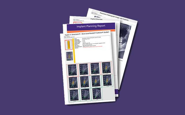 Sicherheit durch Planungsberichte und chirurgische Protokolle