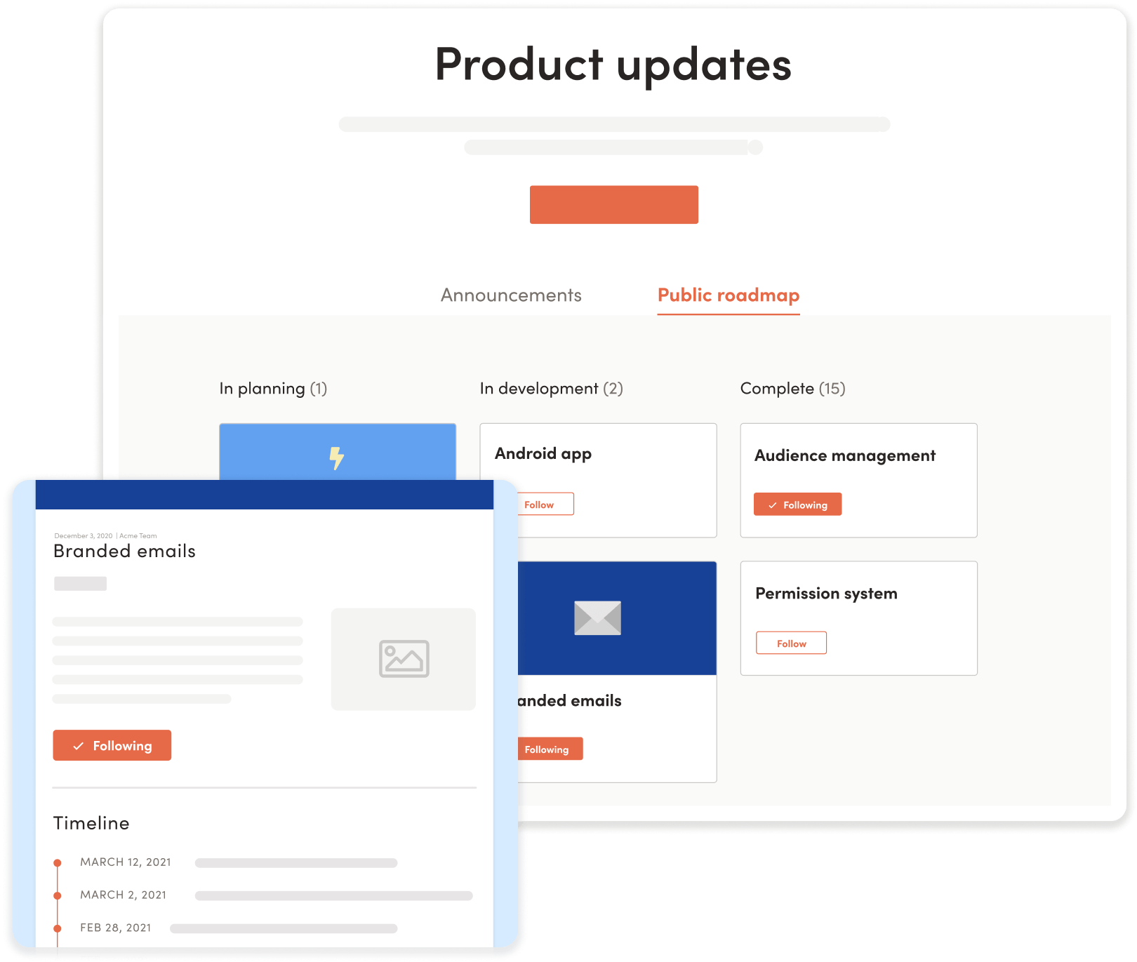 LaunchNotes release pages