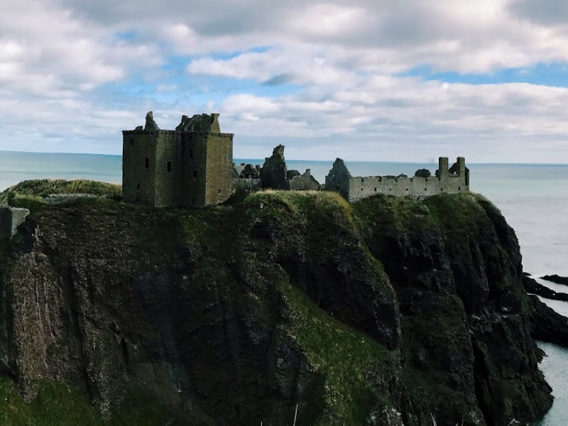 photo of Dunnottar Castle in Stonehaven