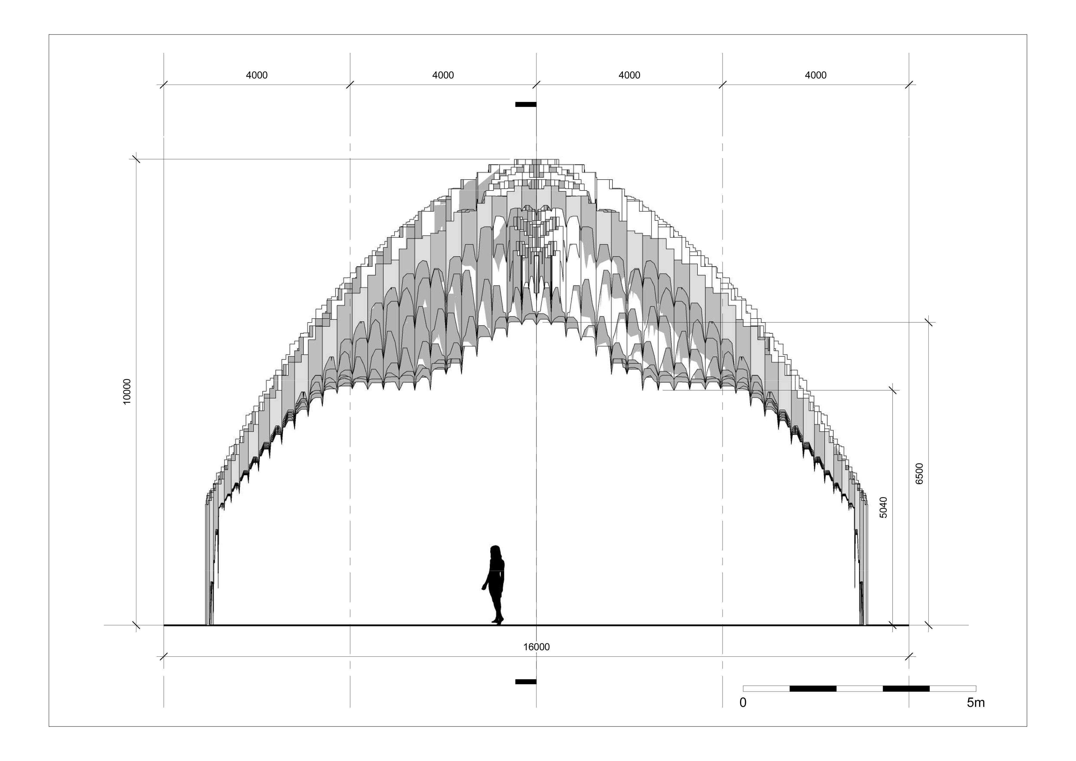 Muqarnas - Sheet - A102 - Single Shell