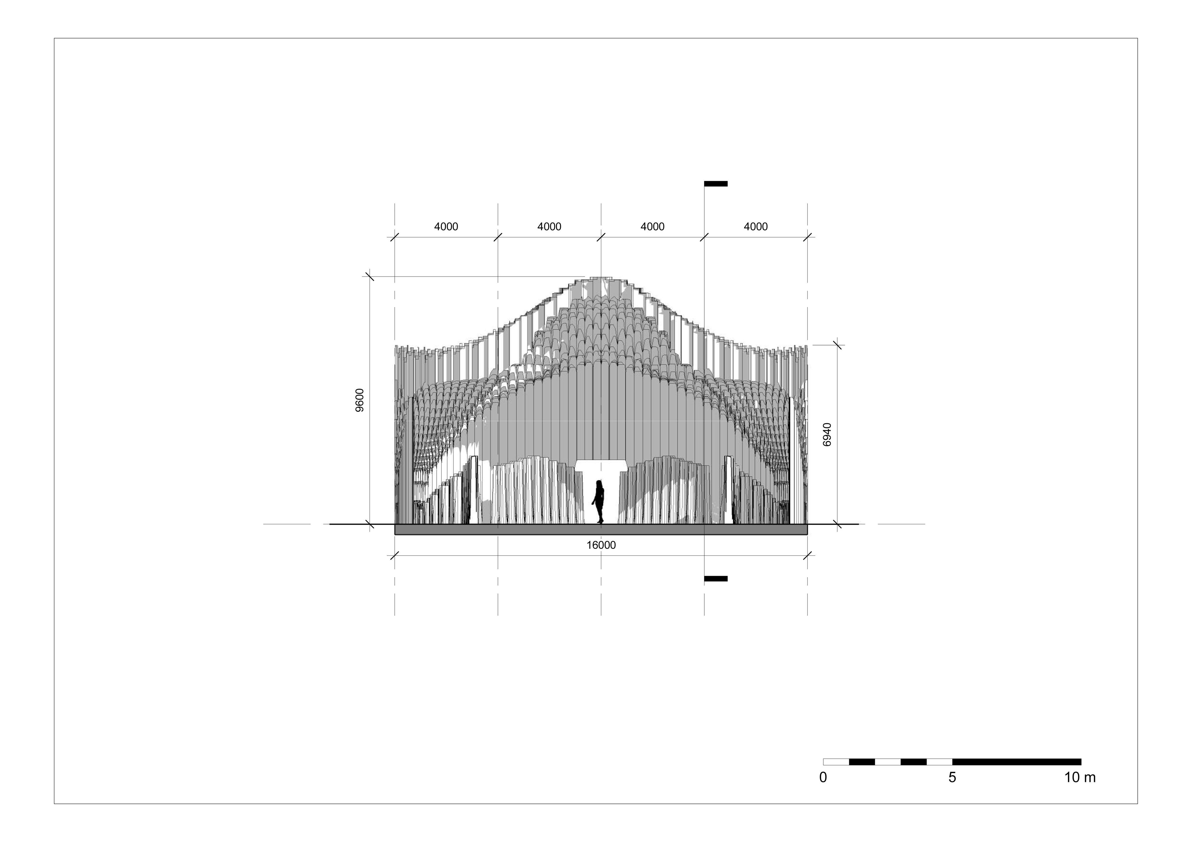 Muqarnas - Sheet - A304 - Hammam - Section B