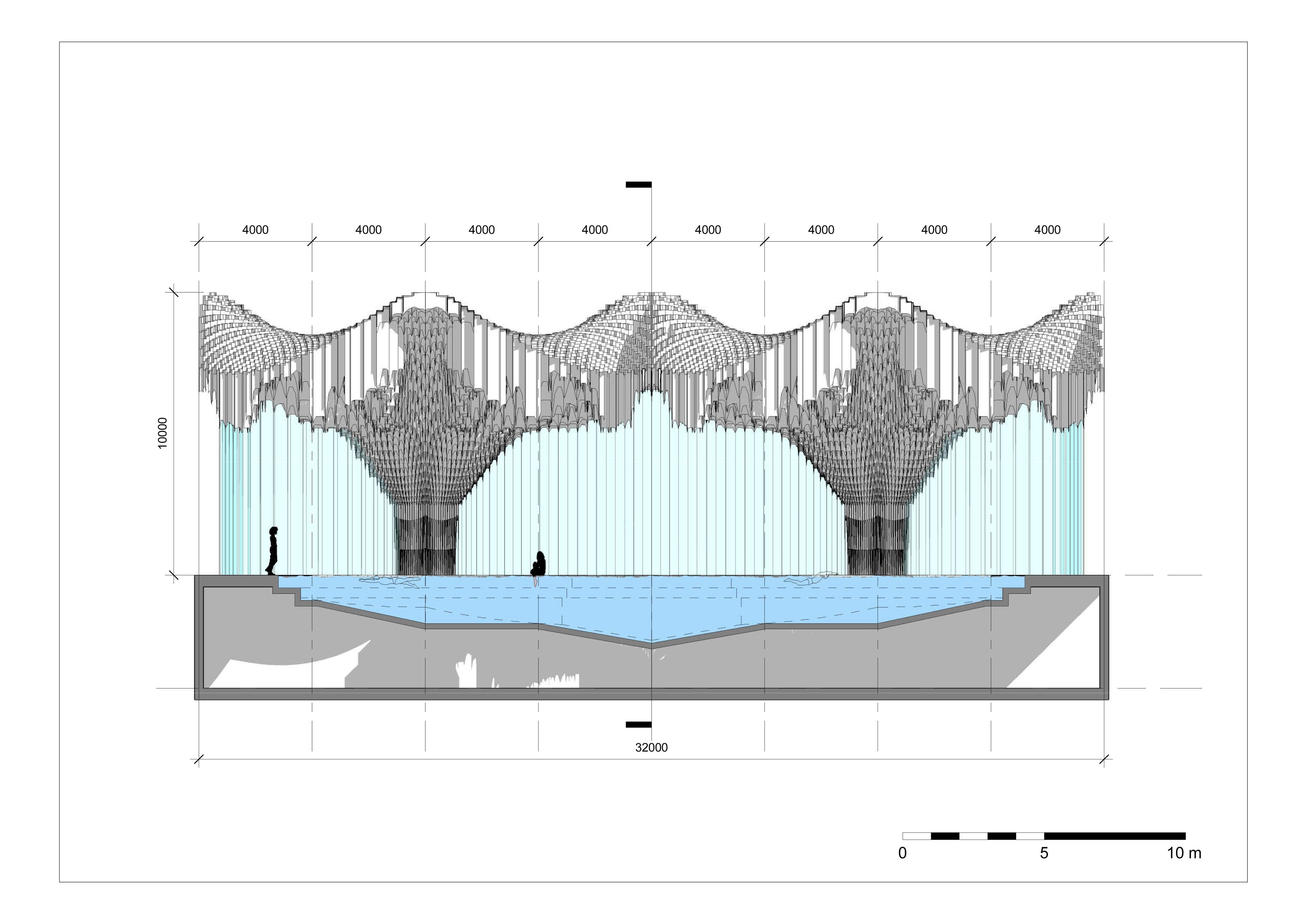 Muqarnas - Sheet - A203 - Pool - Section A