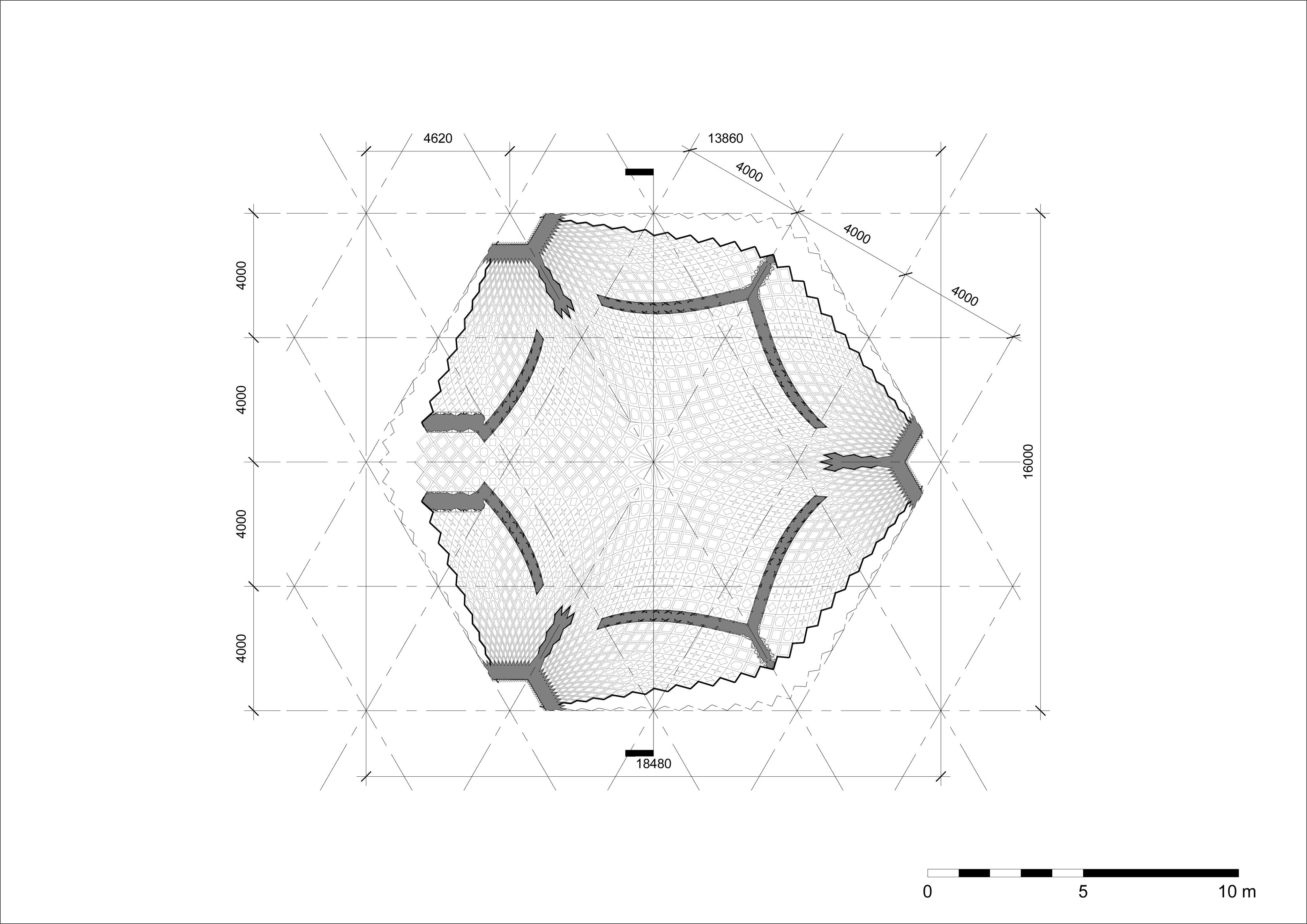 Muqarnas - Sheet - A301 - Hammam - Plan
