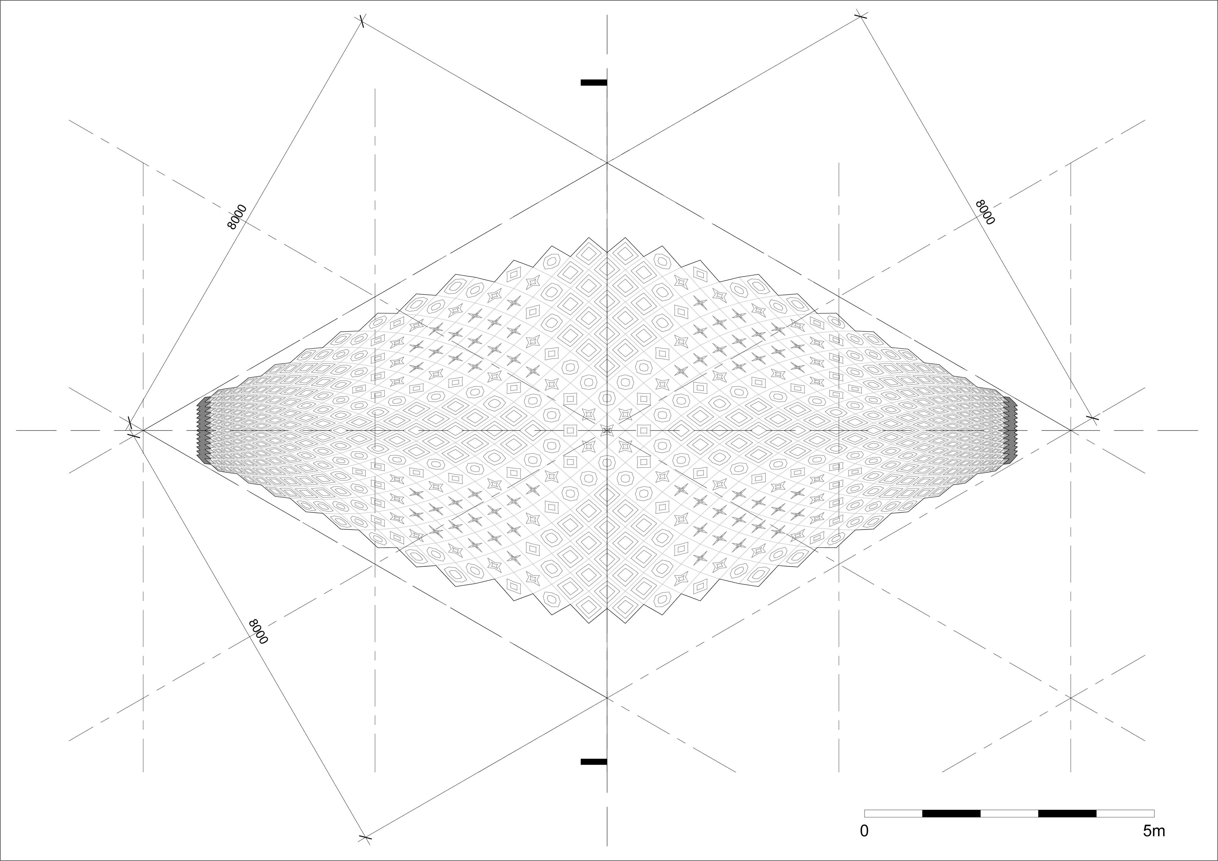 Muqarnas - Sheet - A101 - Single Shell - RCP