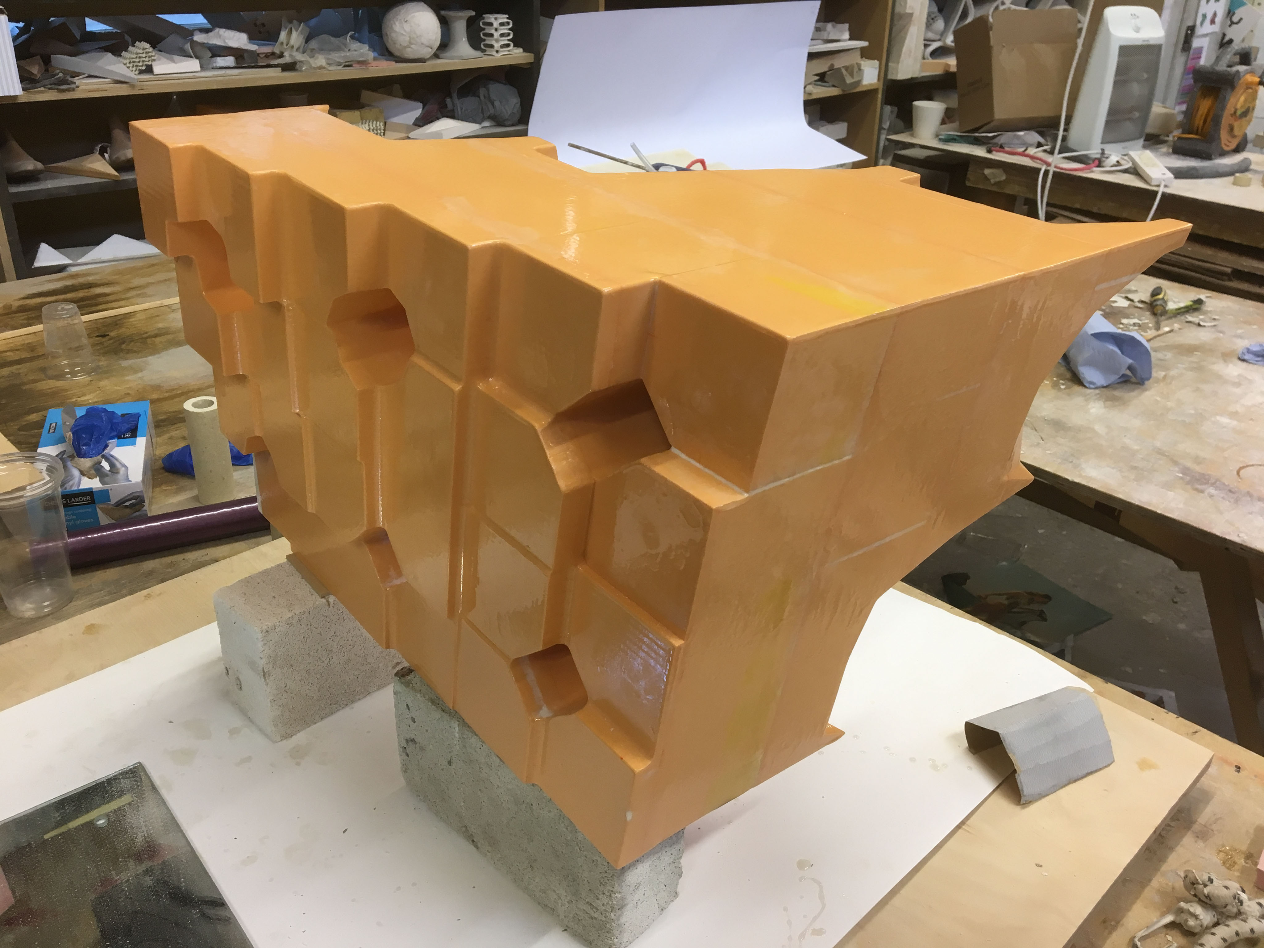Vanished high density foam 03